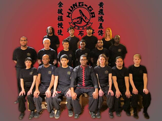 Sifu Lloyd D. Wright & his 2011 students